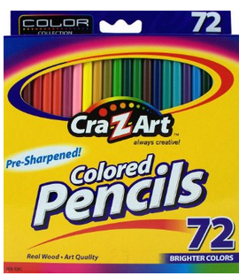 Cra-Z-art Colored Pencils, 72 Count