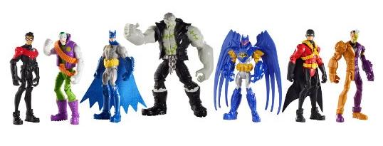 DC Comics Batman 4 Figure (7-Pack)