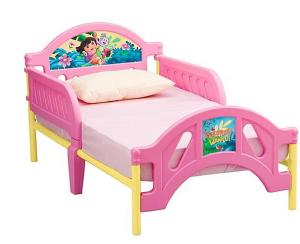 Delta Children Nickelodeon Dora the Explorer Toddler Bed
