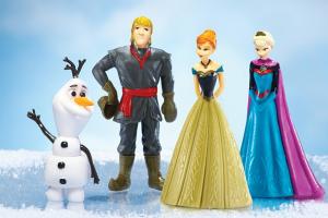Disney Frozen 4-Piece Figurine Set