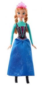 Disney Frozen Sparkle Princess Anna Doll