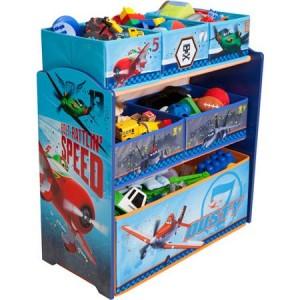Disney Planes Multi-Bin Toy Organizer