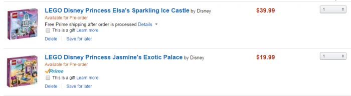 Elsa Castle Preorder Amazon
