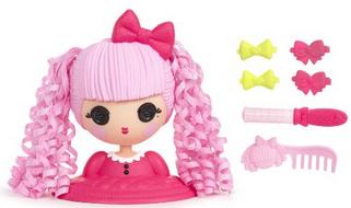 Lalaloopsy Girls Doll Styling Head Jewel Sparkles
