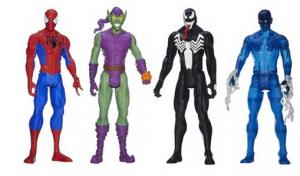 Marvel Ultimate Spider Man Titan Hero Series Spider Man Vs. Villains Showdown Pack
