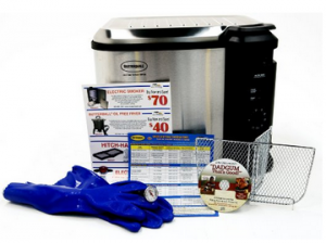 Masterbuilt 23013314 Butterball Indoor XL Fryer with Small Accessory Pack
