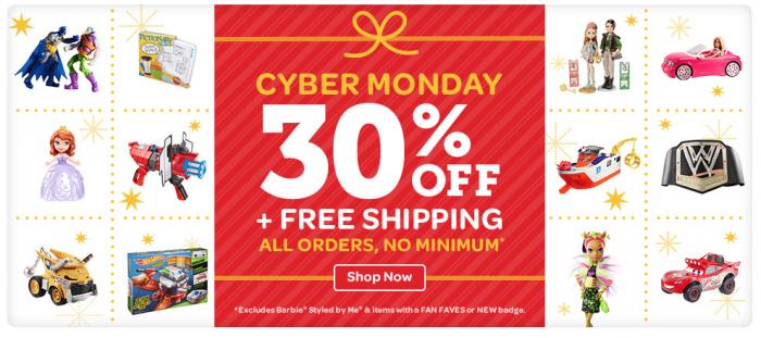 Mattel Cyber Monday