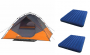 Ozark Trail 6-Person Instant Dome Tent with Two Queen Airbeds Value Bundle