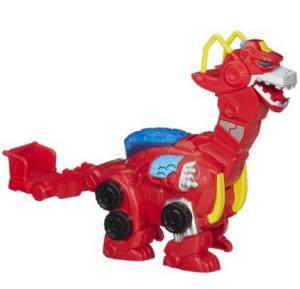 Playskool Heroes Transformers Rescue Bots Heatwave The Rescue Dinobot Figure