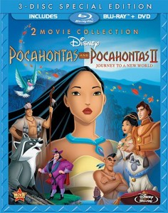 Pocahontas Two-Movie Special Edition (Three-Disc Blu-ray DVD Combo)