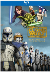 Star Wars The Clone Wars - Seasons 1-5