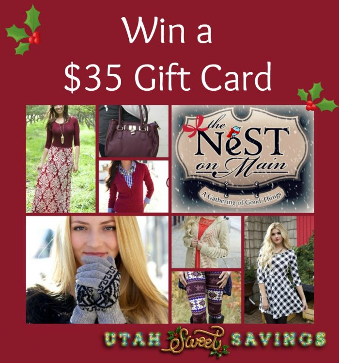 The Nest on Main Giveaway