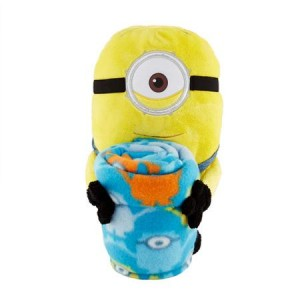 Universal's Minions 'One Eye' Hugger pillow and throw set