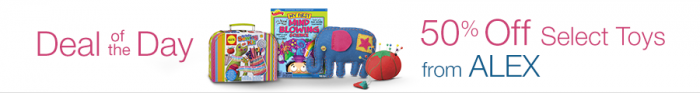 alex toys amazon deal