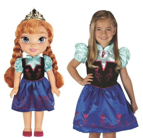 anna doll and dress