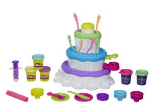 birthday cake playdo