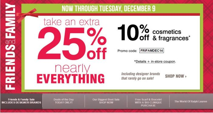Bon-Ton Friends & Family Sale! 25% Off Code, Free Shipping ...
