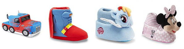 character slippers kmart deal