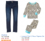 crazy 8 jeans & sleepwear