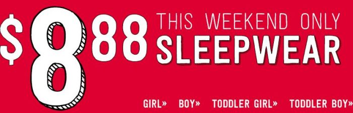 crazy 8 sleepwear