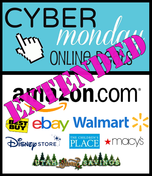 cyber monday sales extended see all the stores utah sweet savings. Black Bedroom Furniture Sets. Home Design Ideas