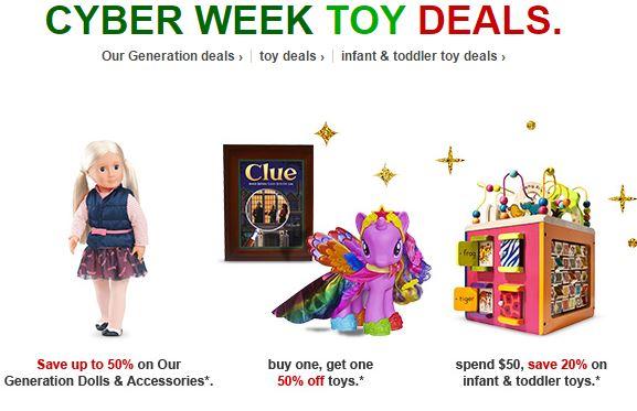 cyber week toy deals
