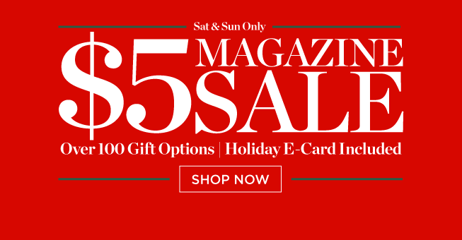 discountmags $5 magazine sale
