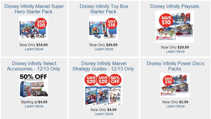 disney infinity gamestop deals more