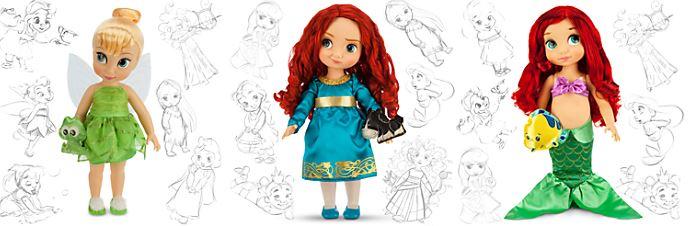 disneystore animators dolls