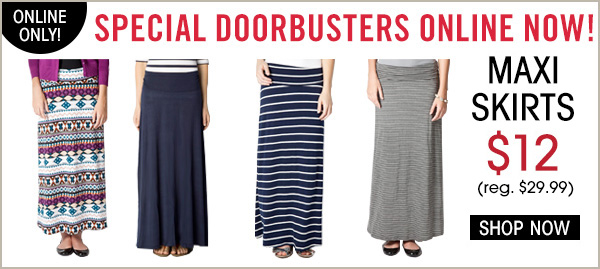 downeast free shipping maxi skirts