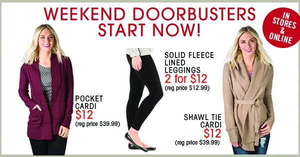 downeast weekend doorbusters