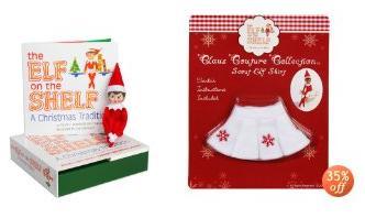elf on the shelf free snowflake skirt