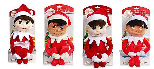 elf on the shelf plushee pals