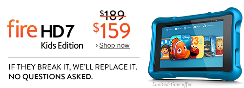 fire hd 7 kids e1417968344177 *HOT* Kindle Fire Tablets on Sale!!! Includes Fire HDX, Fire HD7, Fire HD Kids