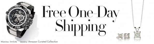 free one day shipping clothign jewelry