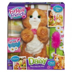 furreal friends daisy plays with me kitty toy