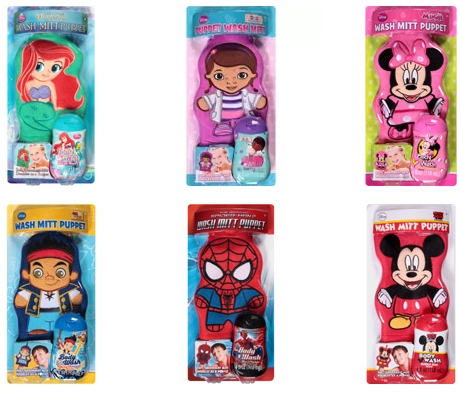 Kids Character Bath Sets For 4 95 Reg 9 88 And Wash