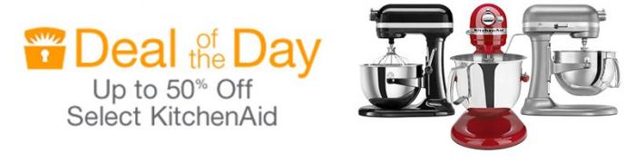 kitchenaid deal of the day amazon