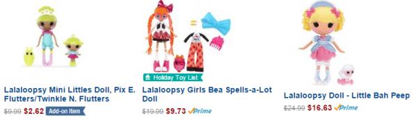 lalaloopsy amazon deals