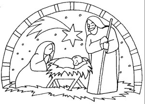also be sure to check out these 35 christmas coloring pages from tinyprints - Christmas Nativity Coloring Pages