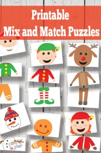 printable mix and match puzzles