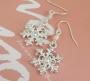 snowflake earings