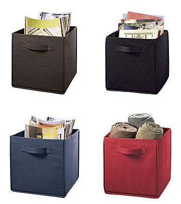 storage cubes  sc 1 st  Utah Sweet Savings & Storage Cubes With Handles for $2.24 (Reg $4.99)! *8 Colors* u2013 Utah ...