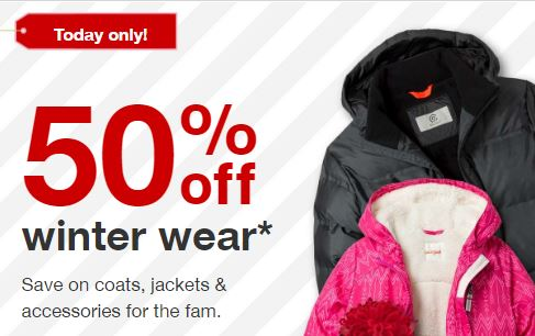 26998a686 Target  50% off Winter Wear for the Family! Women s Parka  34.99 ...