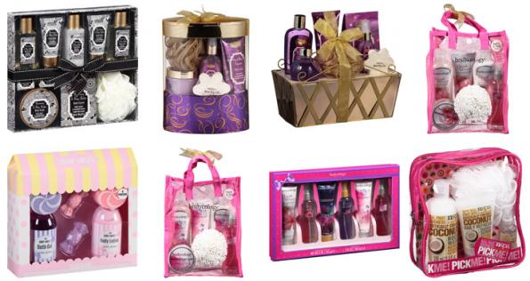 womens bath gift sets