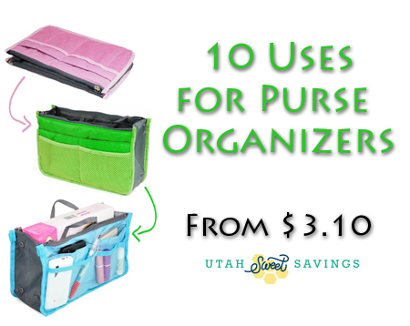 10 uses for purse organizers