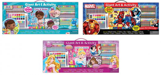 1200 piece artistic studios art and activity collection set - Disney Princess Art And Activity Collection