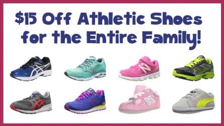 15 off athletic shoes copy