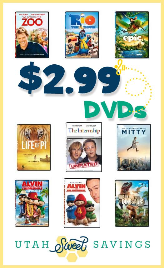 $2.99 DVDs
