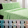 4-Piece Set Beverly Hills Printed Sheet Set